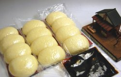 画像2: クール冷蔵便配送【3本セットおまけ】焼きまんじゅう3本(12個)×6袋